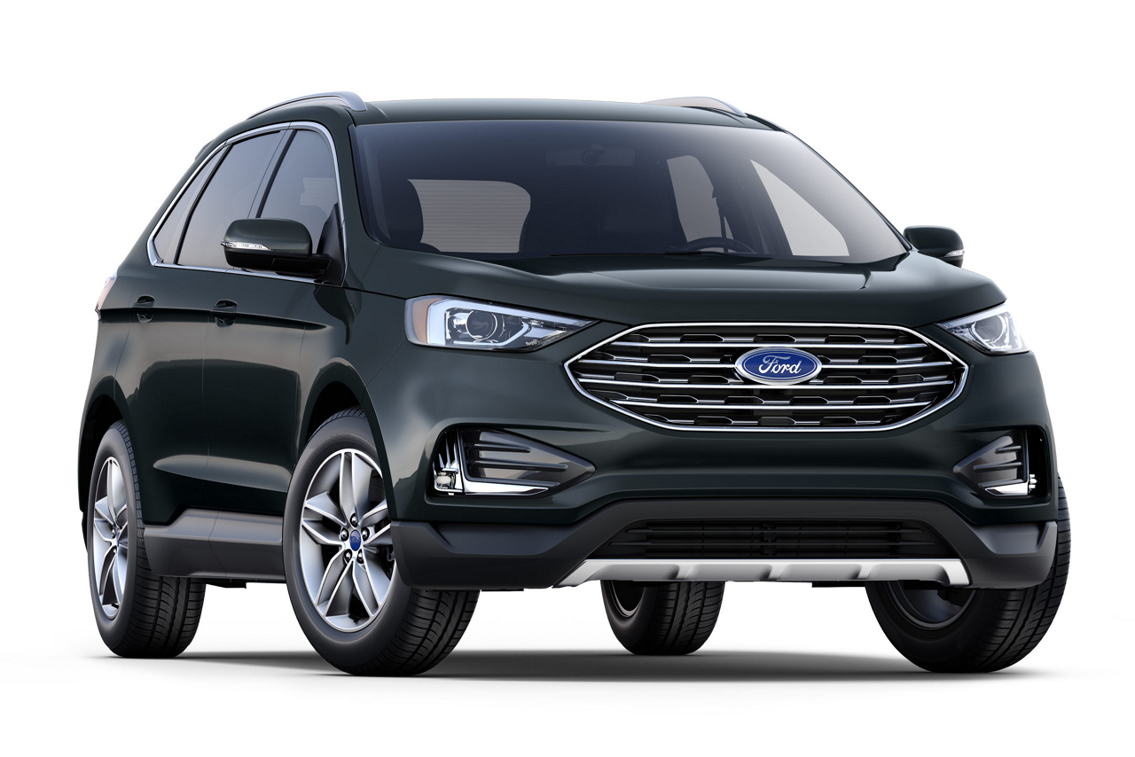 black ford edge