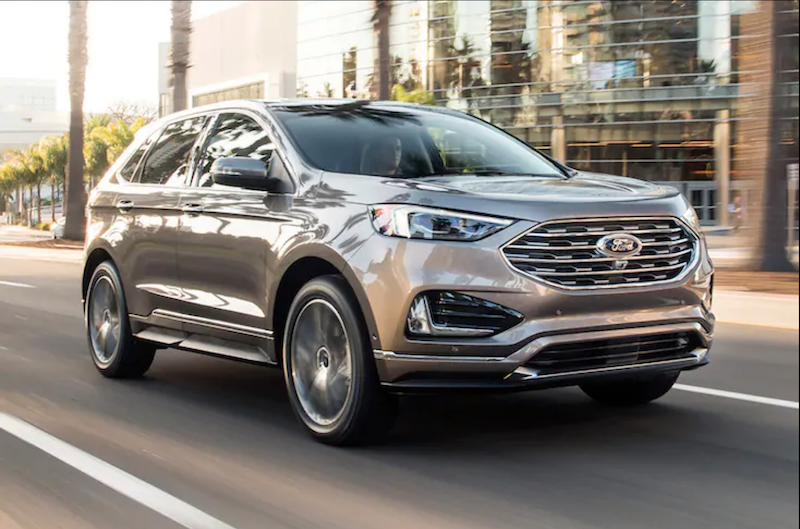 Why the 2019 Ford Edge Titanium is a Tempting Choice | Colley Ford
