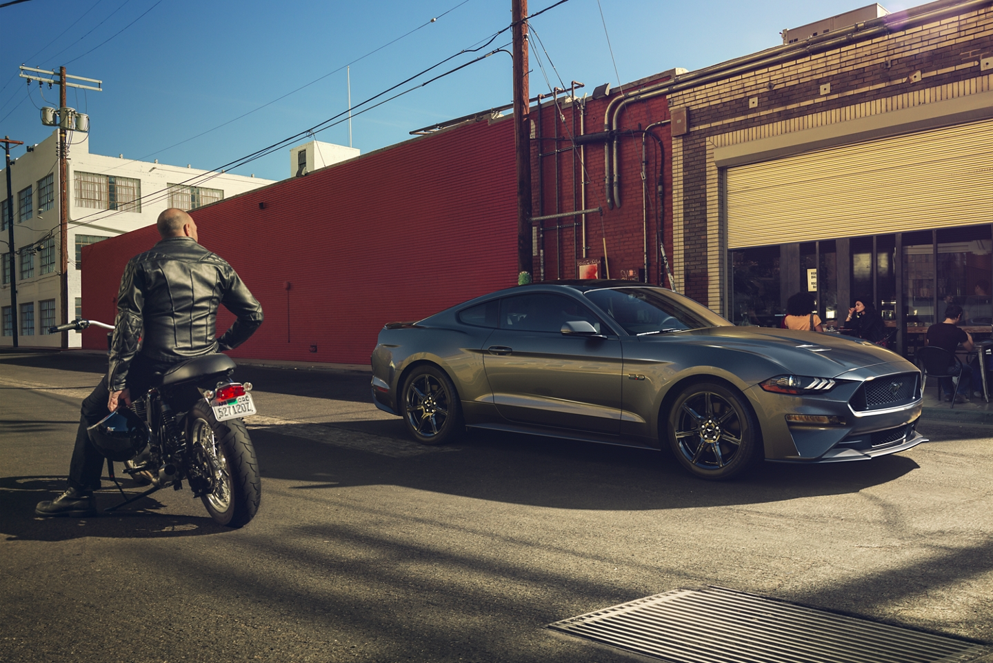 2020 Mustang in Hollywood