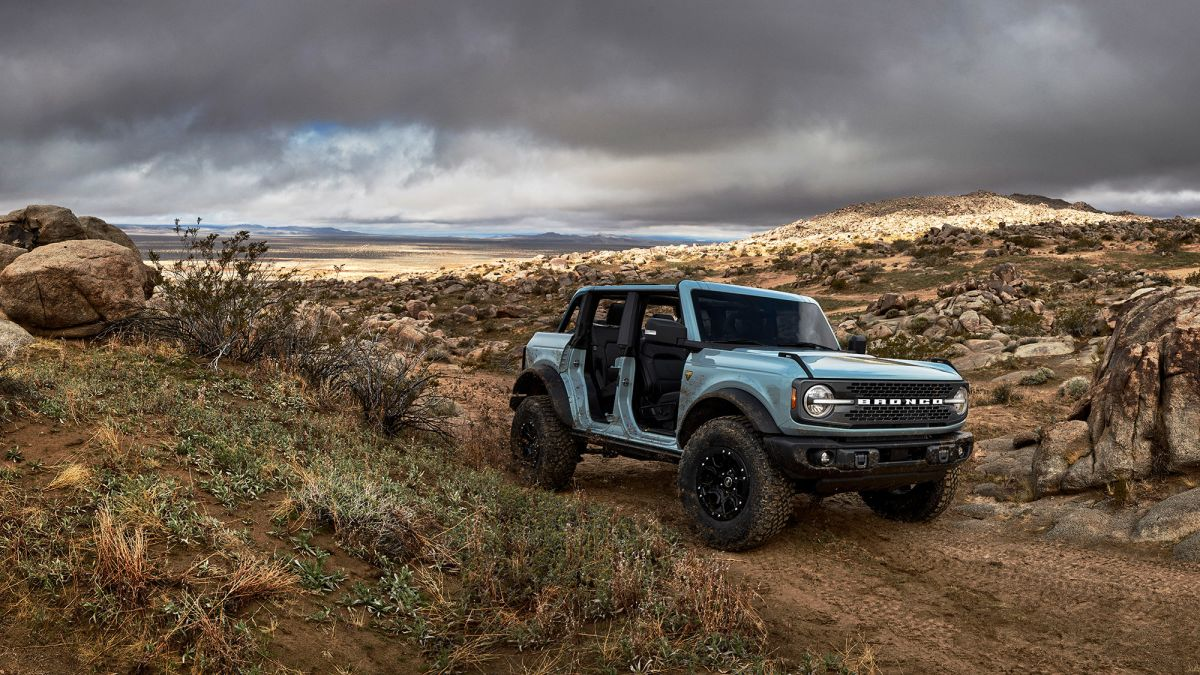 The bronco will be in the off-road race in November