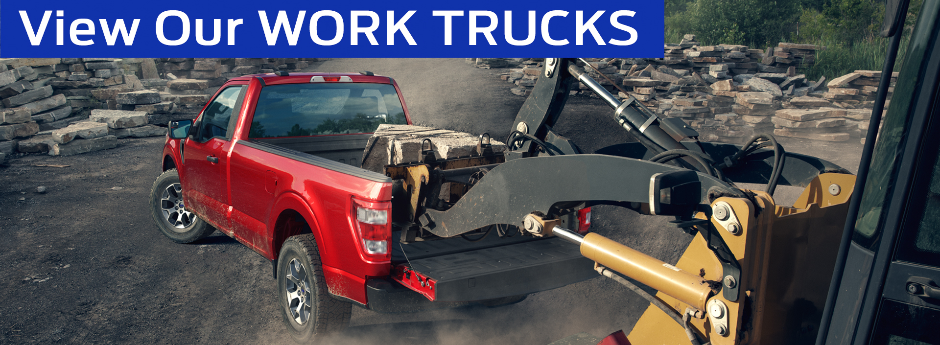 Ford Dealership in Glendora, CA offers all new work trucks