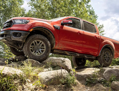 New Ford Ranger Off-Road Package in So Cal