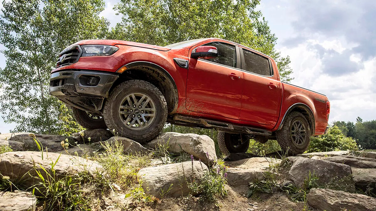 2021 ford ranger off road