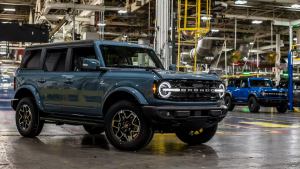 Ford Bronco is now shipping